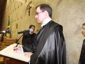 Toffoli toma posse como ministro do STF